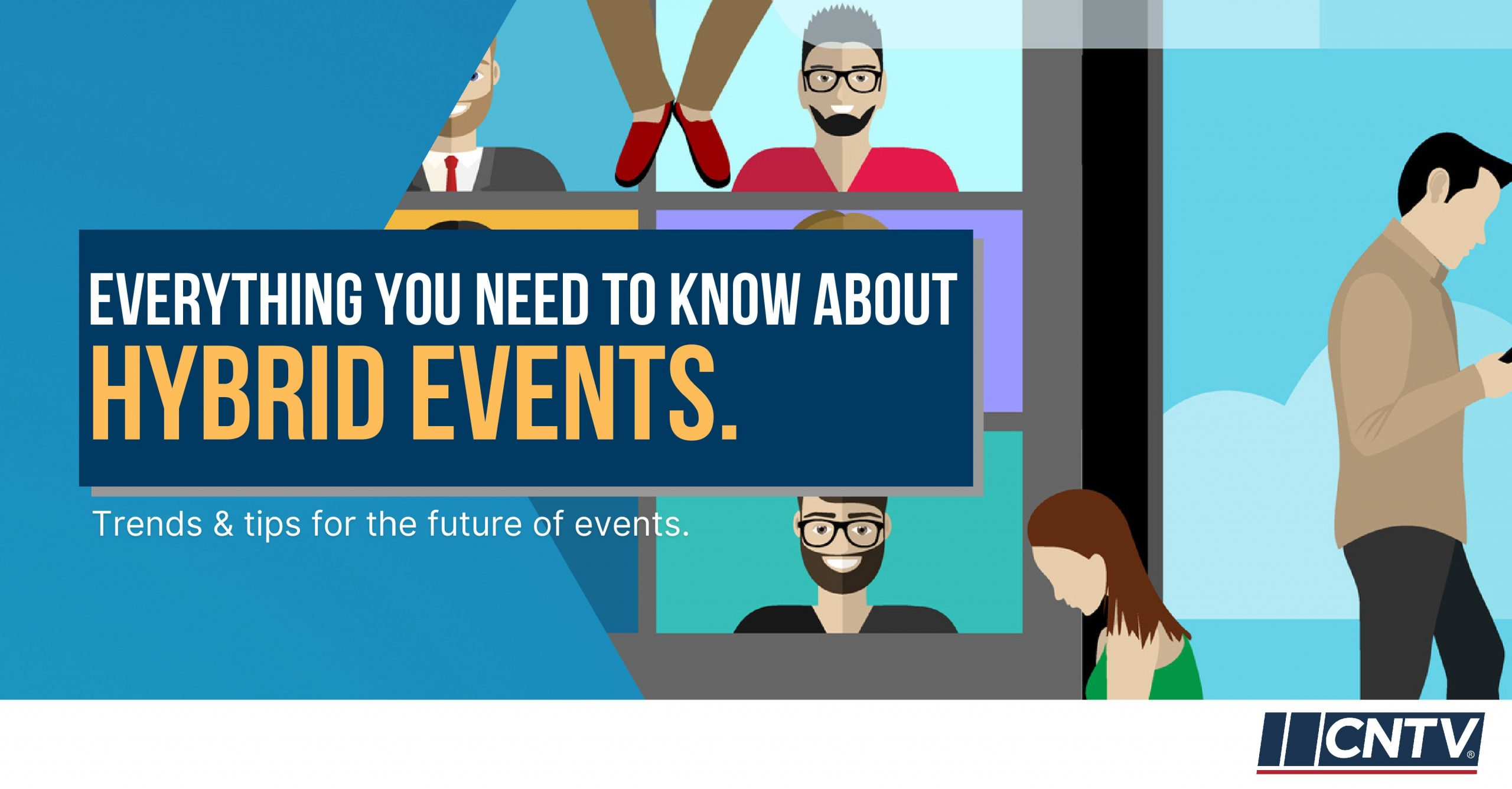 Everything you need to know about hybrid events